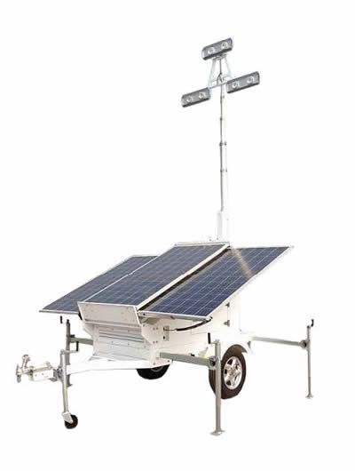 Mobile Solar Trailer Lights
